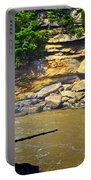 Cumberland Falls Rainbow Portable Battery Charger by Frozen in Time Fine Art Photography