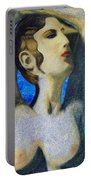 Cyprus Map And Aphrodite Portable Battery Charger
