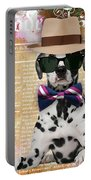 Dalmatian Bowtie Collection Portable Battery Charger