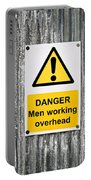 Danger Sign Portable Battery Charger