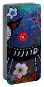 Day Of The Dead Chihuahua Portable Battery Charger