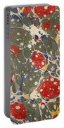 Decorative Endpaper From A Nineteenth Portable Battery Charger