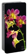 Dendrobium Orchid Portable Battery Charger