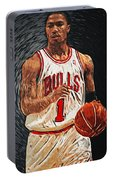Derrick Rose Portable Battery Charger