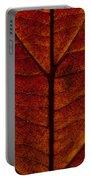 Dogwood Leaf Backlit Portable Battery Charger