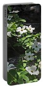 Dogwoods In Yosemite Portable Battery Charger