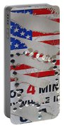 1 Dollar For Four Minutes Sign Telephone American Flag Eloy Arizona 2005 Portable Battery Charger