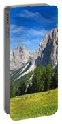 Dolomites - Catinaccio Mount Portable Battery Charger