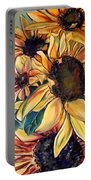 Dooley's Sunflowers Portable Battery Charger