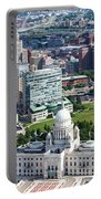 Downtown Providence Rhode Island Portable Battery Charger
