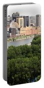 Downtown Skyline Aerial Of St. Paul Minnesota Portable Battery Charger