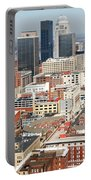 Downtown Skyline Of Louisville Kentucky Portable Battery Charger