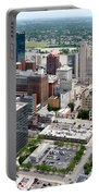 Downtown Skyline Of Toledo Ohio Portable Battery Charger