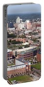 Downtown Skyline Of Wilmington Portable Battery Charger