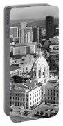Downtown Skyline St. Paul Minnesota Portable Battery Charger