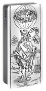 Durer: Syphilitic, 1496 Portable Battery Charger
