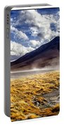 Dusty Desert Road Bolivia Portable Battery Charger