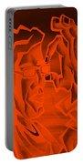 E Vincent Orange Portable Battery Charger