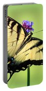 Eastern Tiger Swallowtail Butterfly Square Portable Battery Charger