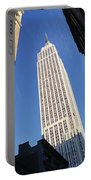 Empire State Building Portable Battery Charger by Jon Neidert