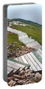 End Of Skyline Trail In Cape Breton Highlands Np-ns Portable Battery Charger