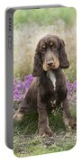 English Cocker Spaniel Puppy Portable Battery Charger