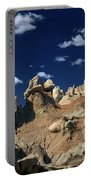Eroded Sandstone Formations Fantasy Canyon Utah Portable Battery Charger