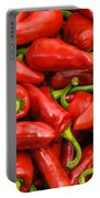 Espelette Peppers Portable Battery Charger