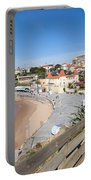 Estoril Beach In Portugal Portable Battery Charger