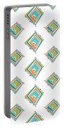 Ethnic Window Portable Battery Charger by Susan Claire