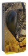 Eucera Longicornis Portrait 4.5x Portable Battery Charger