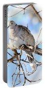 Eurasian Collard Dove Portable Battery Charger