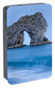 Evening At Durdle Door Portable Battery Charger