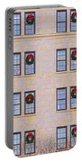 Evergreen Christmas Wreaths Portable Battery Charger