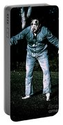 Evil Dead Horror Zombie Walking Undead In Cemetery Portable Battery Charger