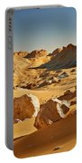 Expressive Landscape With Mountains In Egyptian Desert  Portable Battery Charger