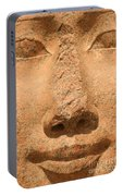 Face Of Hathor Portable Battery Charger
