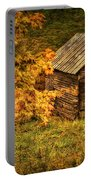 Fall At The Farm Portable Battery Charger