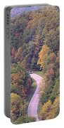 Fall Drive In The Smokies Portable Battery Charger
