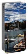 Fall In The Harbor Portable Battery Charger