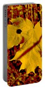 Fall Maple Portable Battery Charger
