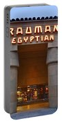 Famous Egyptian Theater In Hollywood California. Portable Battery Charger