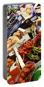 Farmers Market Florence Italy Portable Battery Charger