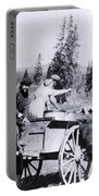 Feeding Bear Yellowstone National Park Portable Battery Charger