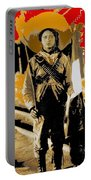 Female Soldier With Mexican Flag  Unknown Location C. 1914-2014 Portable Battery Charger