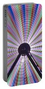 Ferris Wheel And Fireworks Portable Battery Charger
