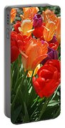 Festival Of Tulips Portable Battery Charger