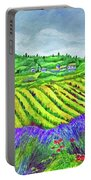 Fields At Dievole Portable Battery Charger