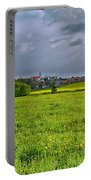 Fields Of Rapeseed In Lower Silesia Portable Battery Charger