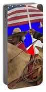 Film Homage Ride Vaquero 1953 1 Hispanic Riders Rodeo Parade Tucson Az 2002-2008 Portable Battery Charger